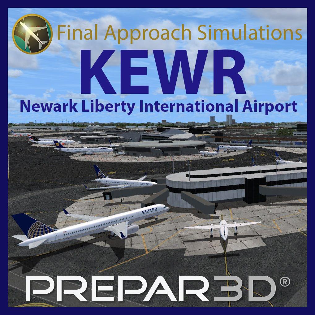 KEWR Newark Liberty International Airport for Prepar3D v3 and v4 (Download)