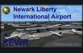 KEWR Newark Liberty International Airport for Prepar3D (Download)
